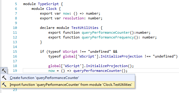 ReSharper by Language TypeScript Context Actions import type 01
