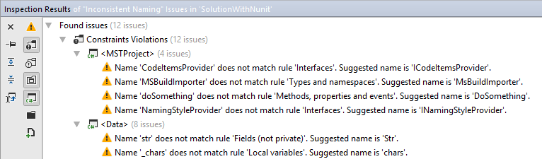 ReSharper: Naming style violations in solution