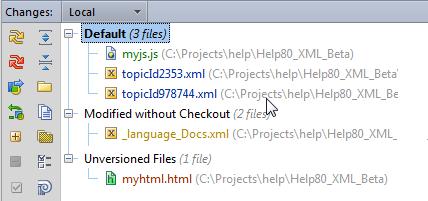 perforceプロジェクト状況の確認 公式ヘルプ datagrip