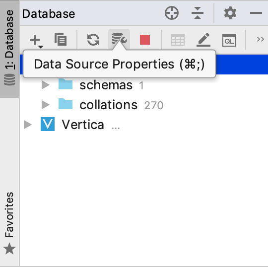 Configure data source settings