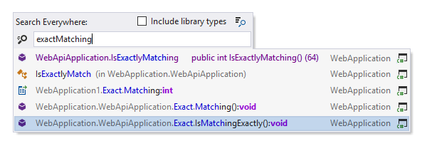 Match elements containing words in the target query in any order