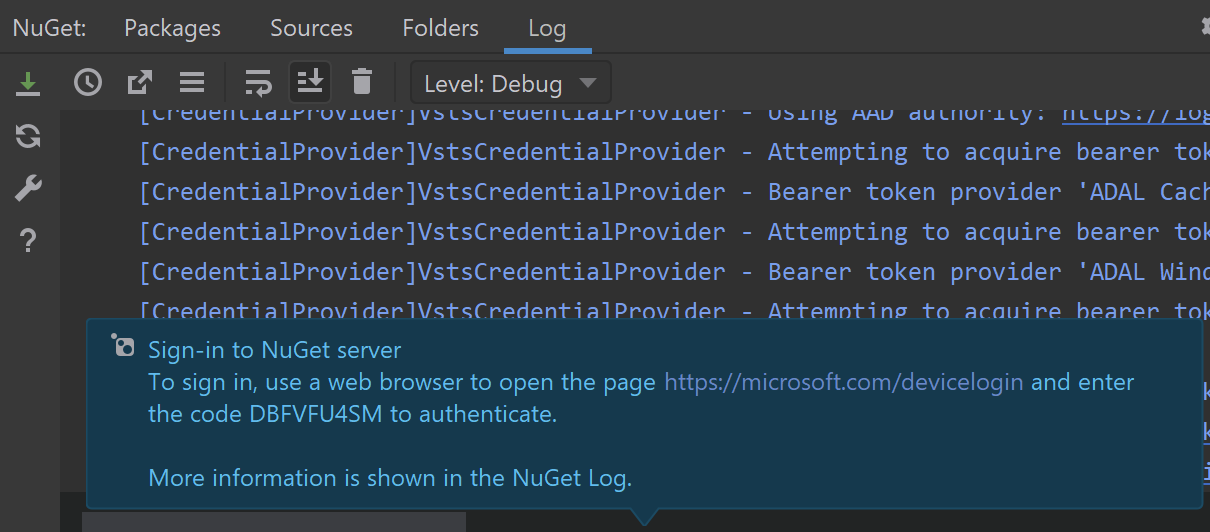 NuGet support