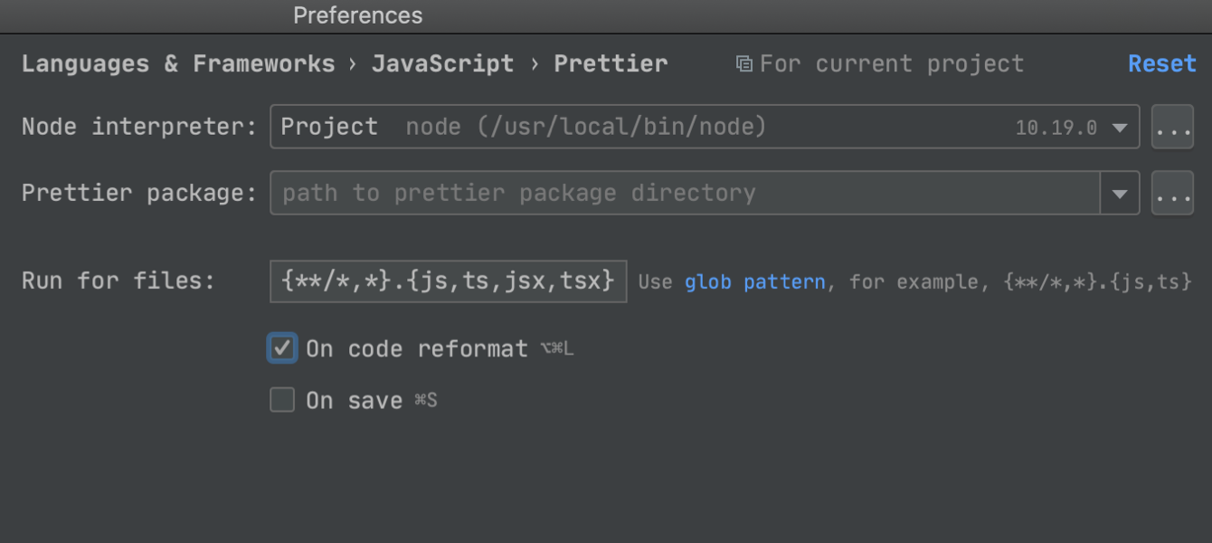 Make Prettier the default formatter in your JavaScript projects